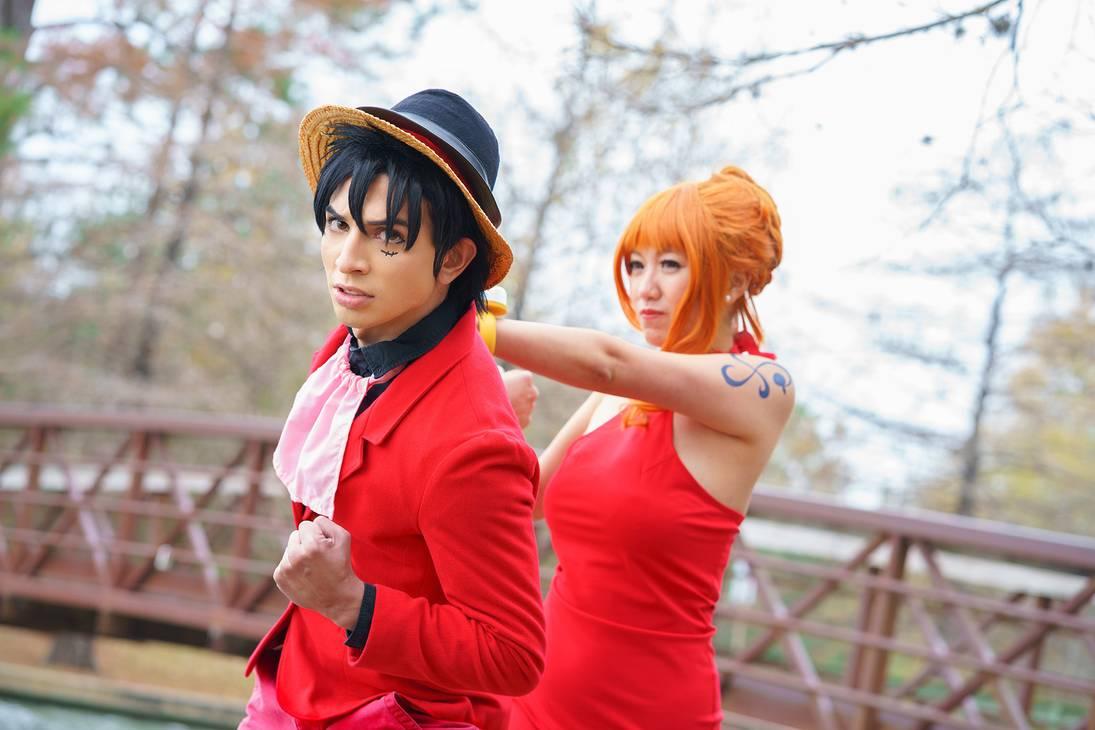 Luffy trở nên lịch lãm bên quý cô Nami - Hình 4