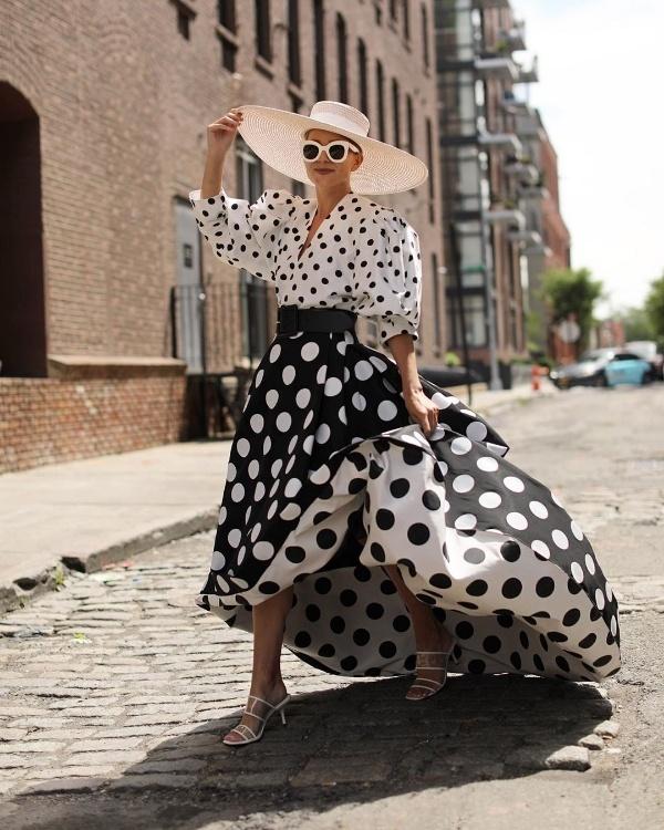 Mùa hè kiểu gì cũng phải sắm trang phục chấm bi xinh đẹp ngất ngây - Hình 2