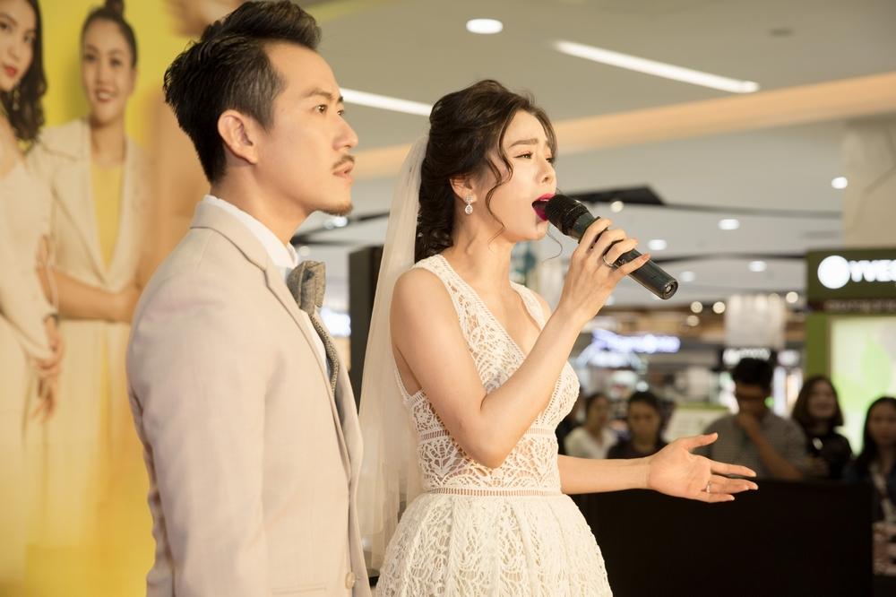 Nam Thư tổ chức họp báo như lễ cưới, đánh ghen Pom - Tú Vi trước mặt truyền thông và khán giả - Hình 3