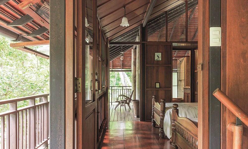 Ngôi nhà gỗ bất chấp nắng nóng, chỉ có gió mát và ánh sáng ngập tràn - Hình 15