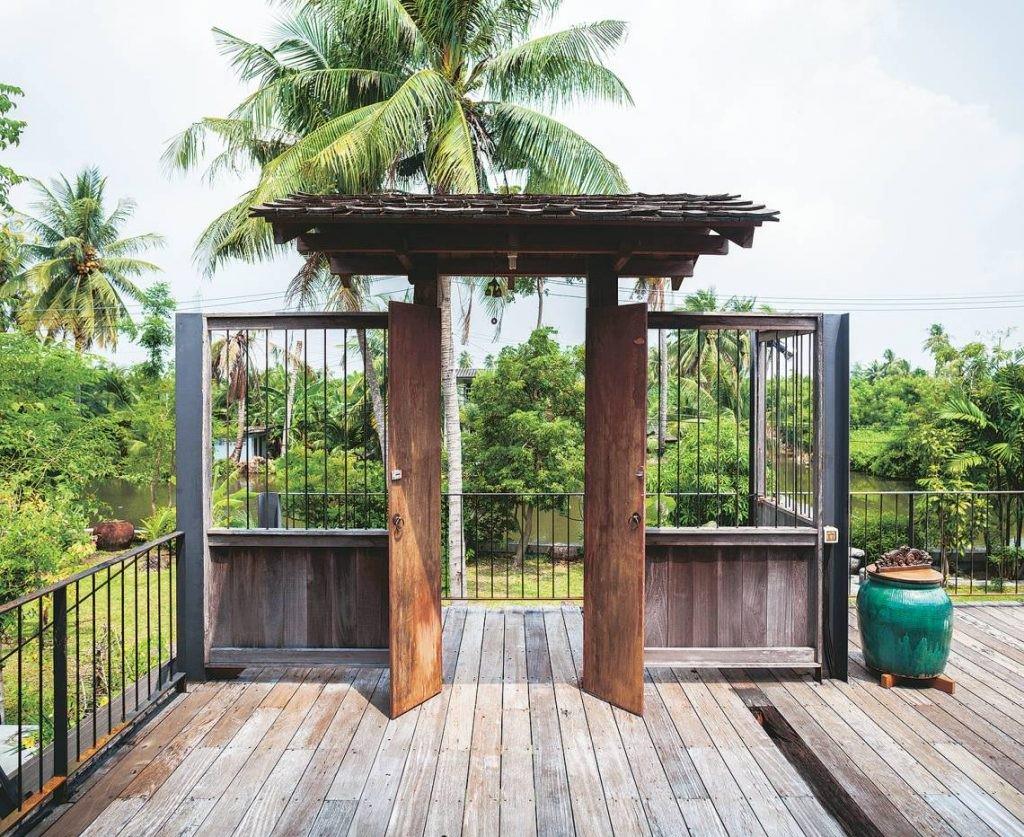 Ngôi nhà gỗ bất chấp nắng nóng, chỉ có gió mát và ánh sáng ngập tràn - Hình 8