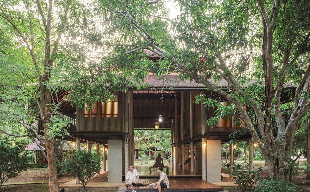 Ngôi nhà gỗ bất chấp nắng nóng, chỉ có gió mát và ánh sáng ngập tràn - Hình 4
