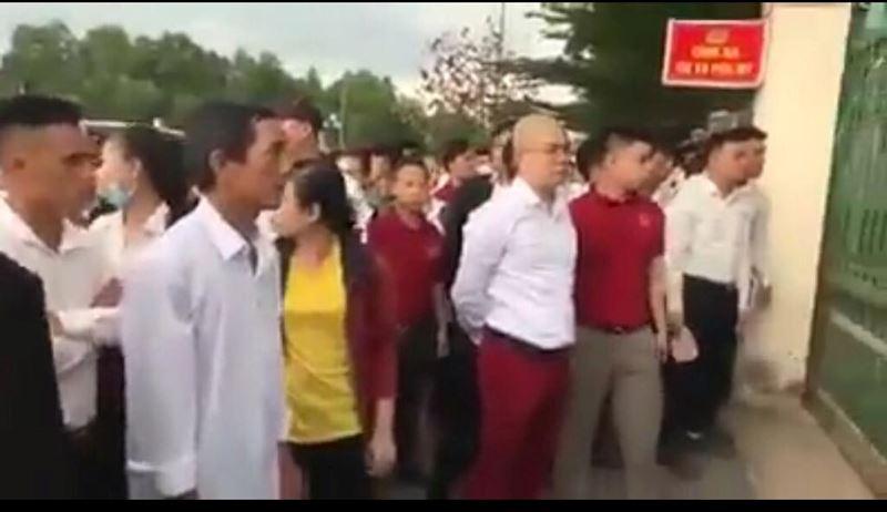 Nhóm người của Tập đoàn địa ốc Alibaba gây rối trước trụ sở công an? - Hình 1