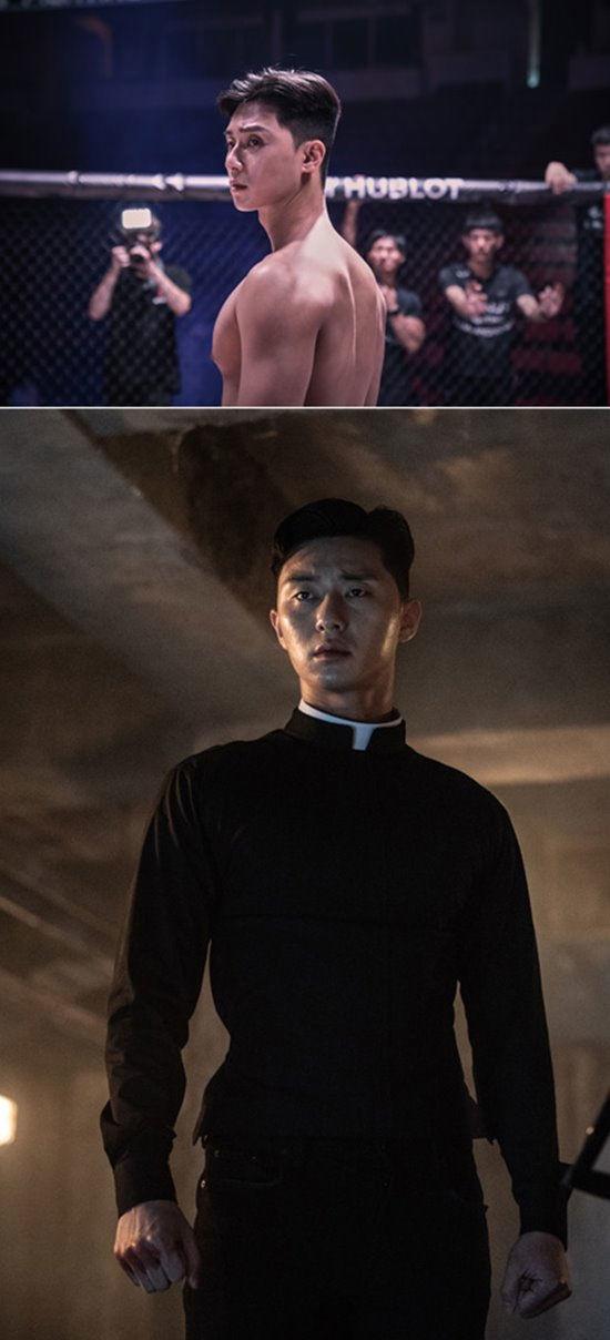 Park Seo Joon khoe cơ bắp trong phim mới - IU là đại gia bất động sản trẻ tuổi - Hình 4