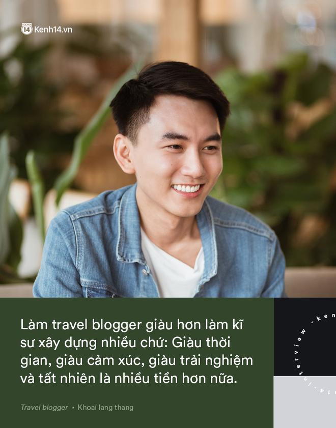 Blogger điển trai Khoai Lang Thang tiết lộ từng bị lừa tiền năm 18 tuổi, giàu hơn rất nhiều khi bỏ nghề kỹ sư để làm du lịch - Hình 8