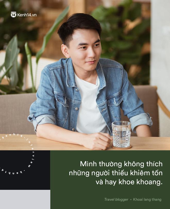 Blogger điển trai Khoai Lang Thang tiết lộ từng bị lừa tiền năm 18 tuổi, giàu hơn rất nhiều khi bỏ nghề kỹ sư để làm du lịch - Hình 5