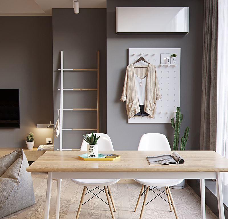 Căn hộ 60 m2 rộng rãi không ngờ nhờ bỏ tường ngăn - Hình 5