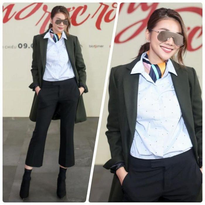 Chẳng cần váy vóc, mỹ nhân Việt chuộng menswear đầy cá tính: ai là người đẳng cấp nhất? - Hình 13