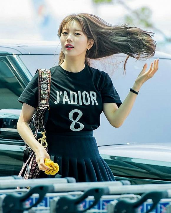 Chẳng kém cạnh tình cũ Lee Min Ho, Suzy khiến dân tình mê mệt vì góc nghiêng thần thánh - Hình 2