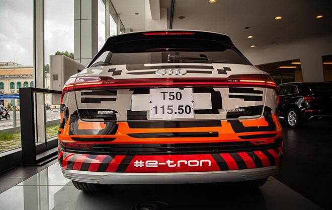 Chiêm ngưỡng hình ảnh của SUV chạy điện Audi E-tron đầu tiên tại Việt Nam - Hình 7