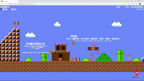 Chơi Super Mario Bros Battle Royale trên trình duyệt - Hình 2
