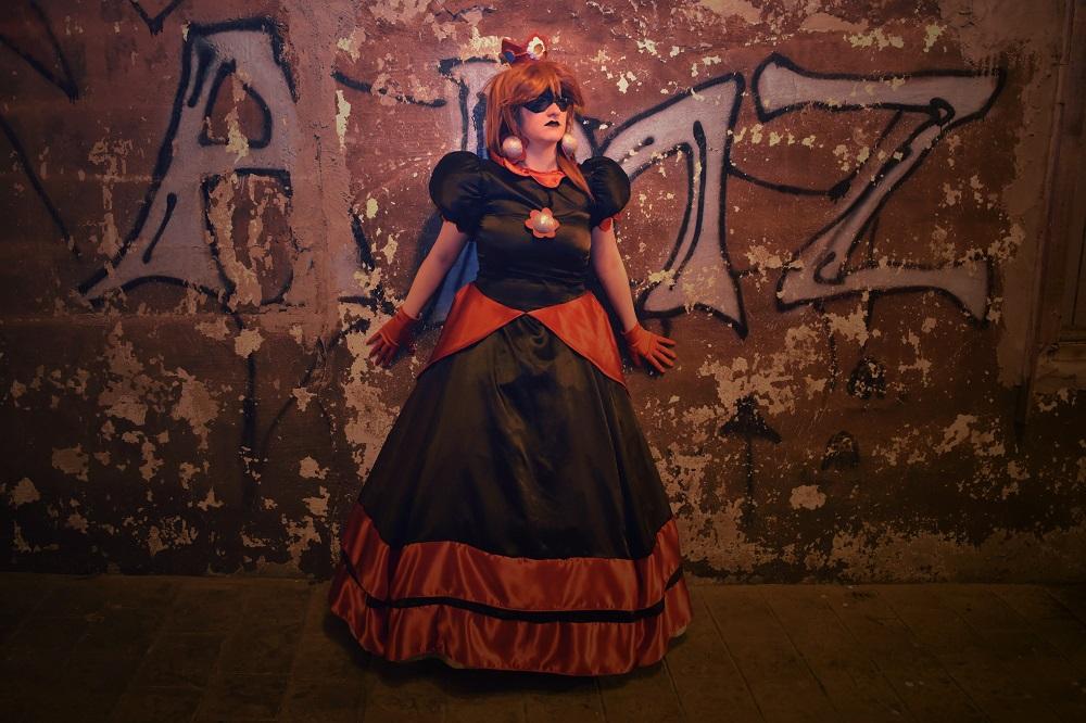 Công chúa Daisy kinh dị với phiên bản Dark của cosplayer MissLink8908 - Hình 5
