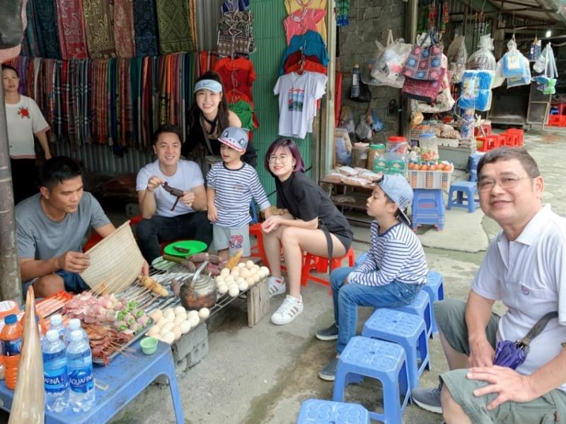 Đăng Khôi và vợ đưa cả gia đình chinh phục đỉnh Fansipan - Hình 10
