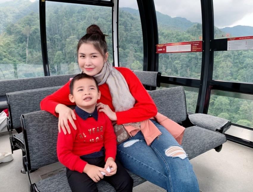 Đăng Khôi và vợ đưa cả gia đình chinh phục đỉnh Fansipan - Hình 5