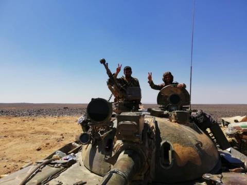 Đánh úp quân Assad, phiến quân tổn thất nặng - Hình 1