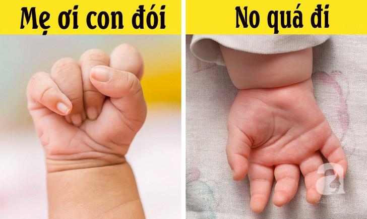 Đọc vị 18 dấu hiệu của trẻ sơ sinh để biết ngay nhu cầu của trẻ - ai mới làm mẹ không thể bỏ qua - Hình 4