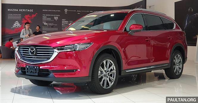 Mazda CX-8 đầu tiên tại Việt Nam có giá từ hơn 1,1 tỷ đồng - Hình 1