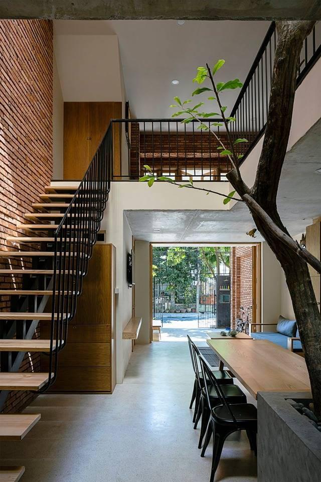 Ngôi nhà ống sở hữu thiết kế nhà trong nhà cực độc đáo ở thành phố đáng sống nhất Việt Nam - Hình 12