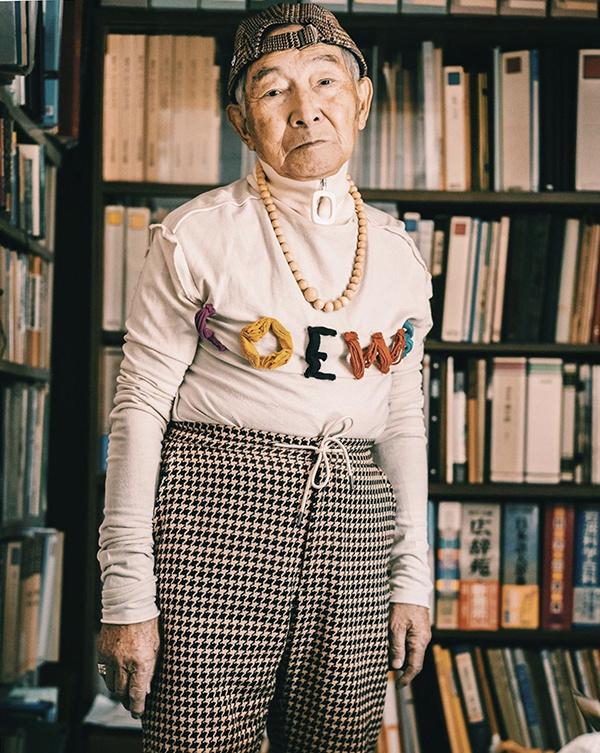 Phong cách dân chơi của cụ ông Nhật Bản 84 tuổi - Hình 1