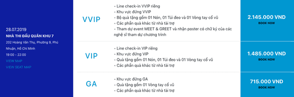 Sơn Tùng M-TP công bố giá vé cho Sky Tour, Sky kêu gào: bán thận mới mua được vé VVIP - Hình 1