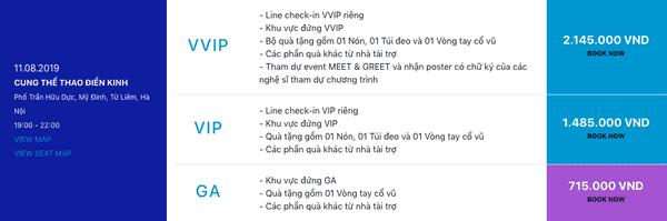 Sơn Tùng M-TP công bố giá vé cho Sky Tour, Sky kêu gào: bán thận mới mua được vé VVIP - Hình 3