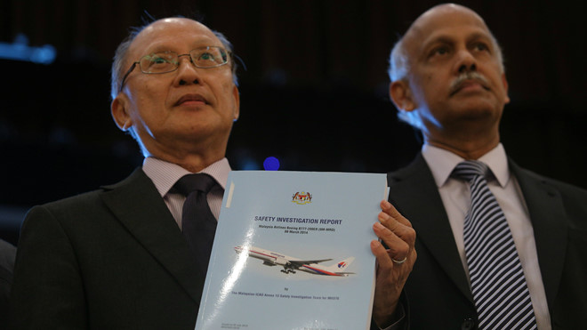 Sự thật về MH370 : Vỡ tan như pháo hoa? - Hình 2