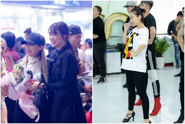 Tấm hình chụp chung của Hari Won và 'báu vật Hàn Quốc' tại sân bay bất ngờ được netizen Việt - Hàn chú ý, truyền tay rầm rộ - Hình 2
