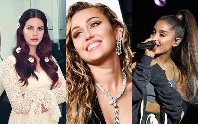 Taylor Swift đã bắt tay Katy Perry thì Miley Cyrus cũng phải rủ rê Ariana Grande - Lana Del Rey cho bằng được! - Hình 1