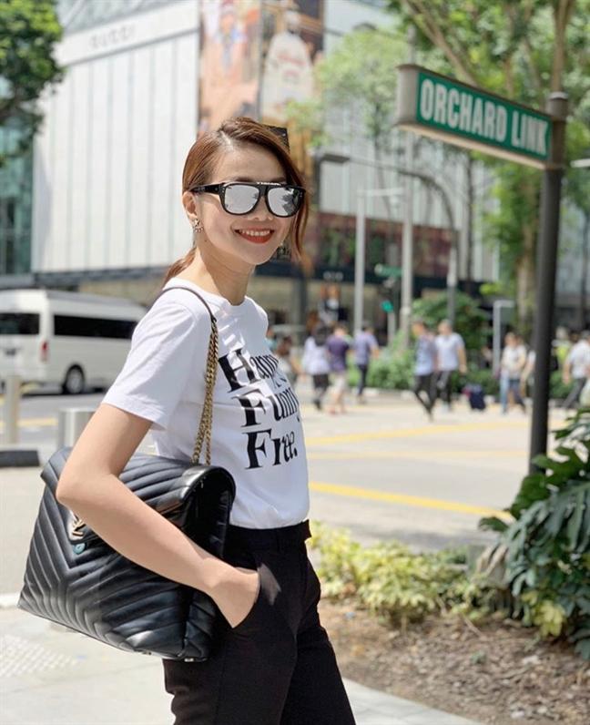 Thanh Hằng khoe gu thời trang ngày càng trẻ trung khó cưỡng - Hình 5