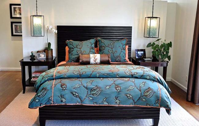 Thử mà xem, phòng ngủ nhà bạn sẽ đẹp bội phần nhờ đèn thả trang trí - Hình 3