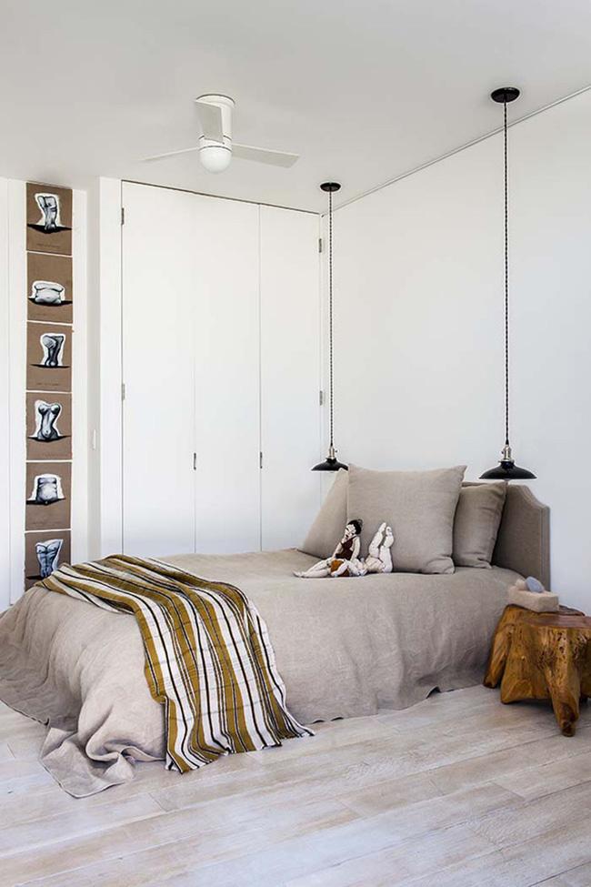 Thử mà xem, phòng ngủ nhà bạn sẽ đẹp bội phần nhờ đèn thả trang trí - Hình 9