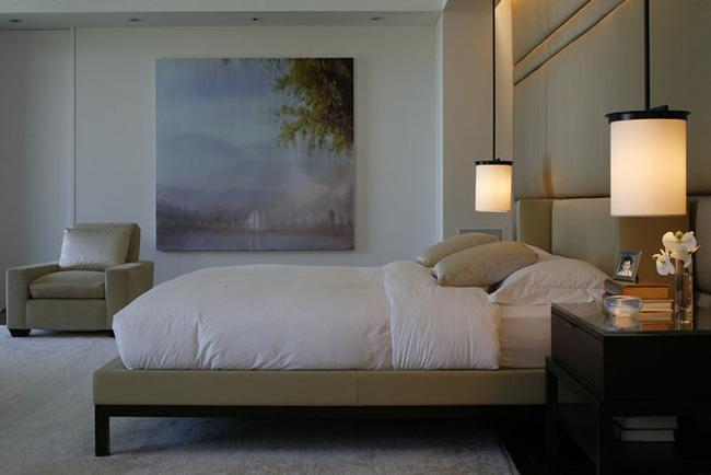 Thử mà xem, phòng ngủ nhà bạn sẽ đẹp bội phần nhờ đèn thả trang trí - Hình 6