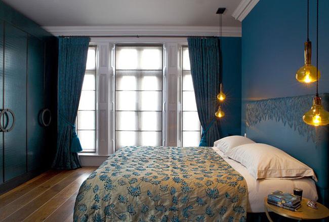 Thử mà xem, phòng ngủ nhà bạn sẽ đẹp bội phần nhờ đèn thả trang trí - Hình 13