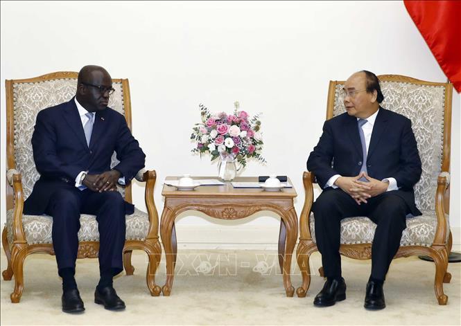 Thủ tướng Nguyễn Xuân Phúc tiếp Bộ trưởng Ngoại giao nước Cộng hòa Bờ Biển Ngà - Hình 2