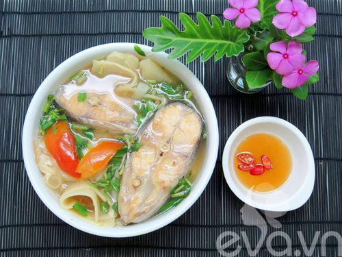 10 cách nấu canh chua cá thơm ngon ngọt mát chuẩn vị tại nhà - Hình 11