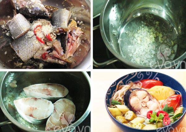 10 cách nấu canh chua cá thơm ngon ngọt mát chuẩn vị tại nhà - Hình 3