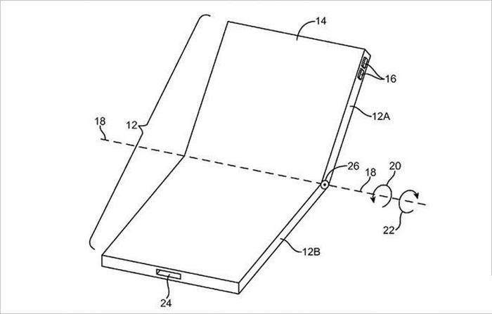 Apple cáo già nhìn Samsung, Huawei làm smartphone màn hình gập - Hình 5