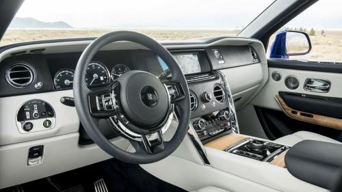 Chiêm ngưỡng Rolls-Royce Cullinan, ô tô SUV siêu sang - Hình 5