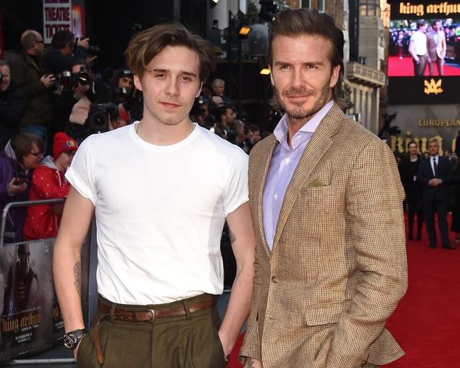 Con trai cả Brooklyn gây thất vọng vì yêu mù quáng, David Beckham chuyển sang o bế cậu hai Romeo Beckham? - Hình 6
