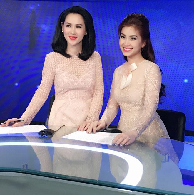 Đỗ Mỹ Linh bị nhà đài nhắc nhở vì trang phục hoành tráng khi dẫn sóng VTV - Hình 5