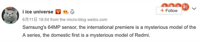 Lộ bằng chứng cho thấy Xiaomi sẽ là hãng đầu tiên dùng camera 64 MP trên smartphone - Hình 2