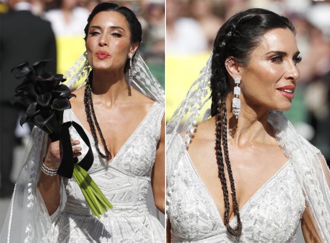 Lý do hôn thê của Ramos chọn hoa cưới màu đen - Hình 3