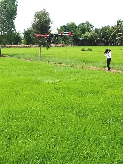 Nông dân hăm hở mua máy bay không người lái làm lúa - Hình 4