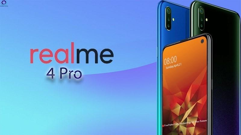 Realme 4 Pro lộ video trên tay: 3 camera, vân tay trong màn hình - Hình 1