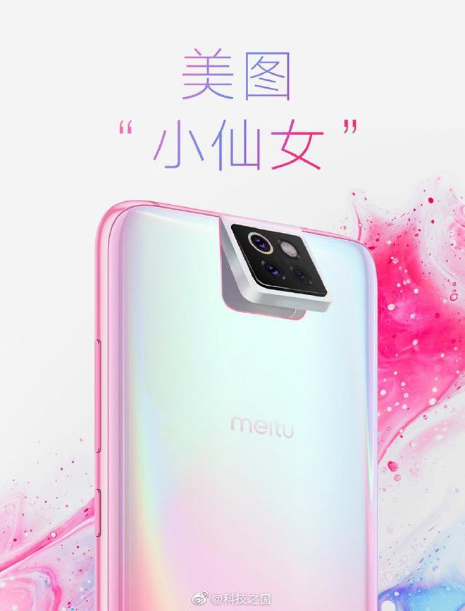 Smartphone Xiaomi Meitu lộ diện với cụm 3 camera lật giống ASUS Zenfone 6 - Hình 1