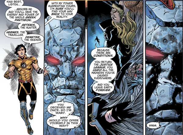 Sức mạnh của Jason - em trai song sinh của Wonder Woman - Hình 10