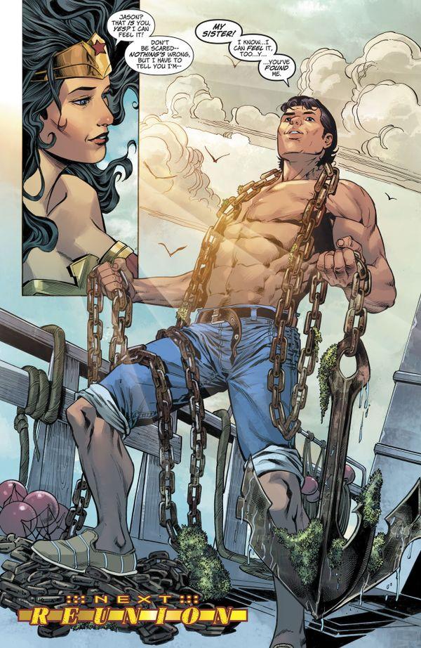 Sức mạnh của Jason - em trai song sinh của Wonder Woman - Hình 2