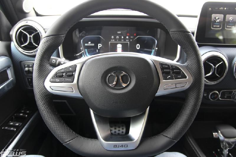 SUV Trung Quốc BAIC BJ40L giá gần 1 tỷ cạnh tranh Mazda CX-5 - Hình 4