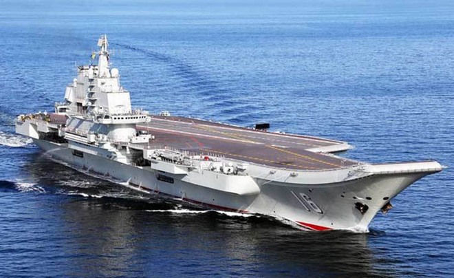 Việt Nam đang xác minh thông tin Trung Quốc đưa tàu sân bay vào Biển Đông - Hình 1