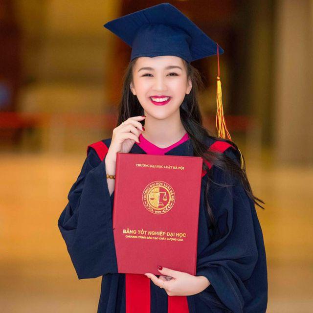 Vừa học đại học vừa mang bầu, Hoa khôi Tràng An vẫn tốt nghiệp loại giỏi - Hình 4